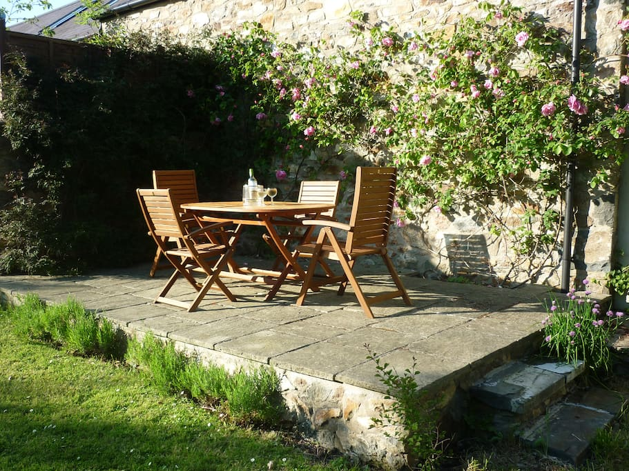 The Top Terrace for Guests use