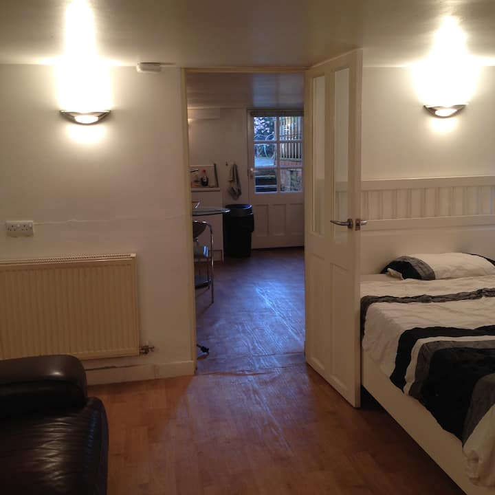 Basement flat with own entrance