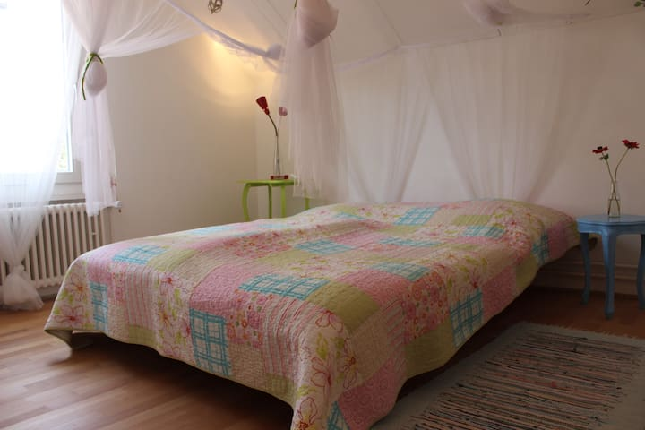 Bedroom and studyroom - Kreuzlingen - บ้าน