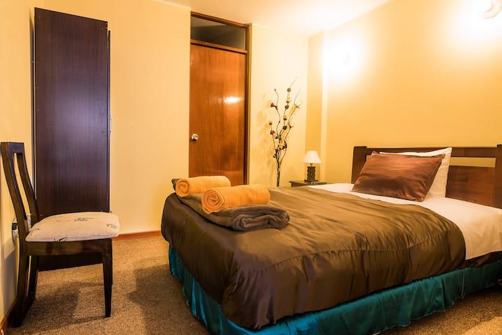 Habitaciones amoblada para estancias largas