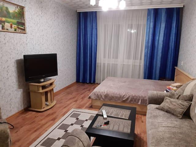 Просторная 1-комнатная квартира в новом микрорайон