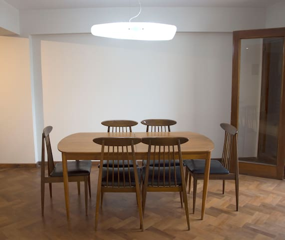 Dining area (opens from kitchen)