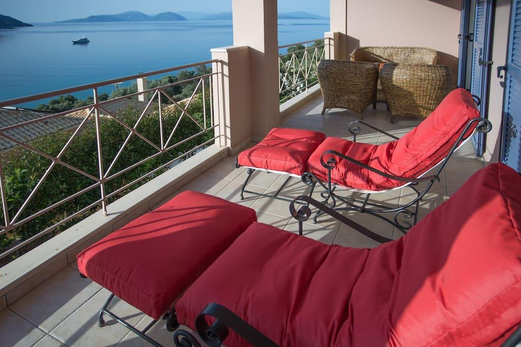 Lefkada Island Villas view