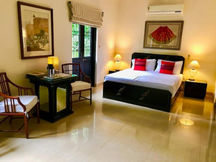 Premium Double Room with Pool at Candolim