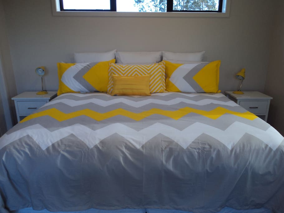 Sunshine Room  King Size bed which can be converted to 2 King Singles