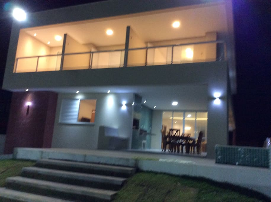 Front of the House (Night)