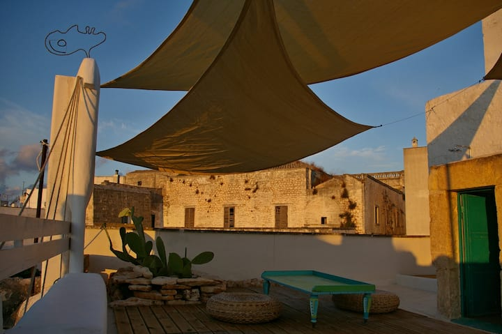 Cosy casa with sunny roof terrace!