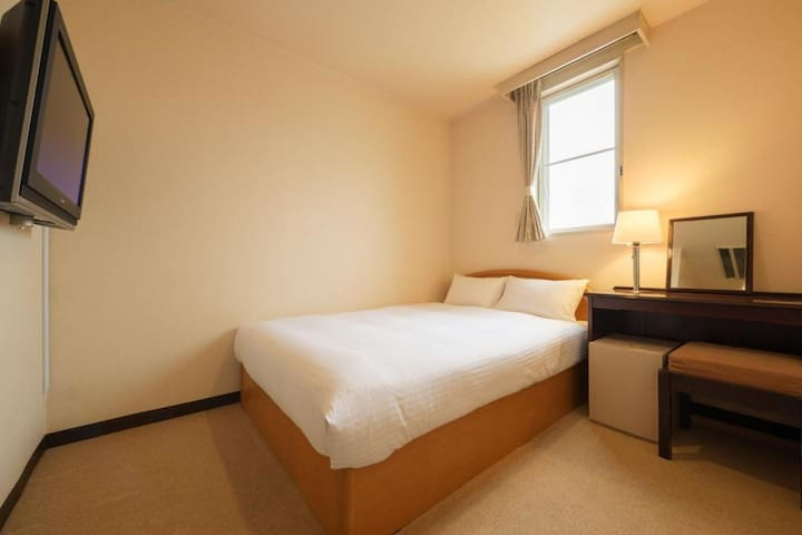 A Comfortable Hotel Stay in Matsushima (Double Bed)