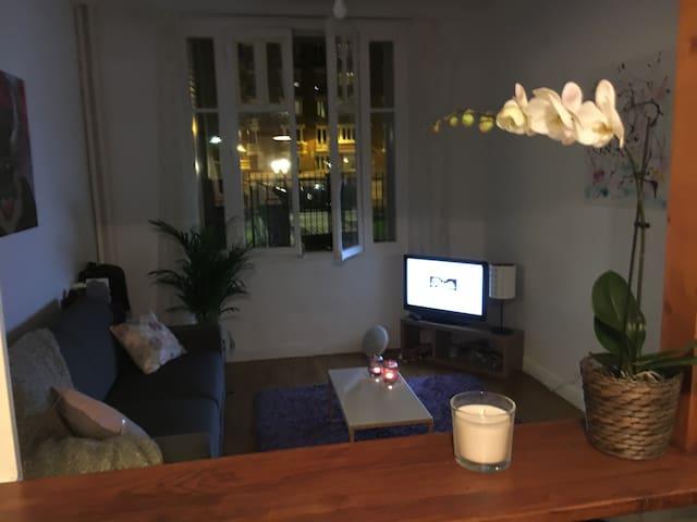 Cosy studio Paris 13 - Parijs - Appartement