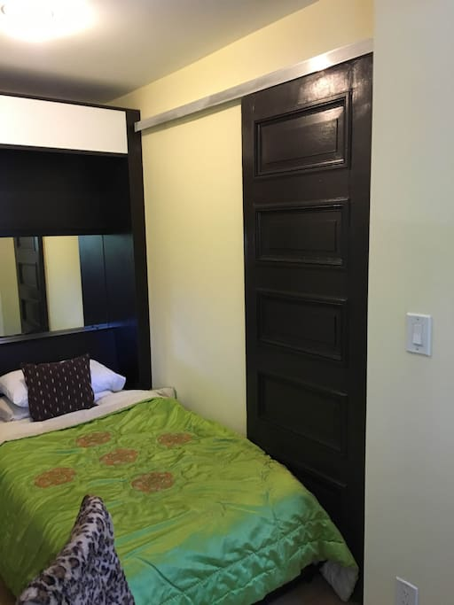 Techline Studio Murphy Bed with mirror and back-lighting