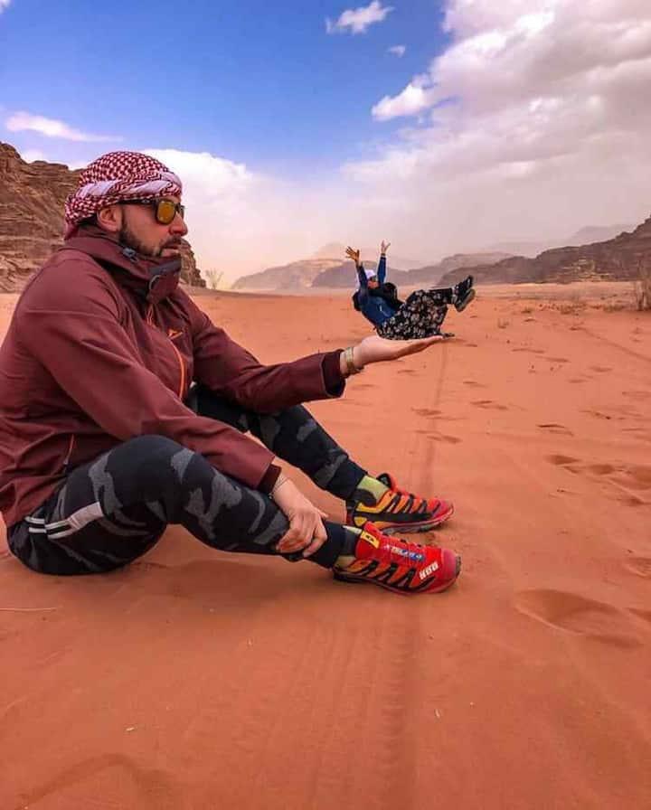 Desert Mars Camp