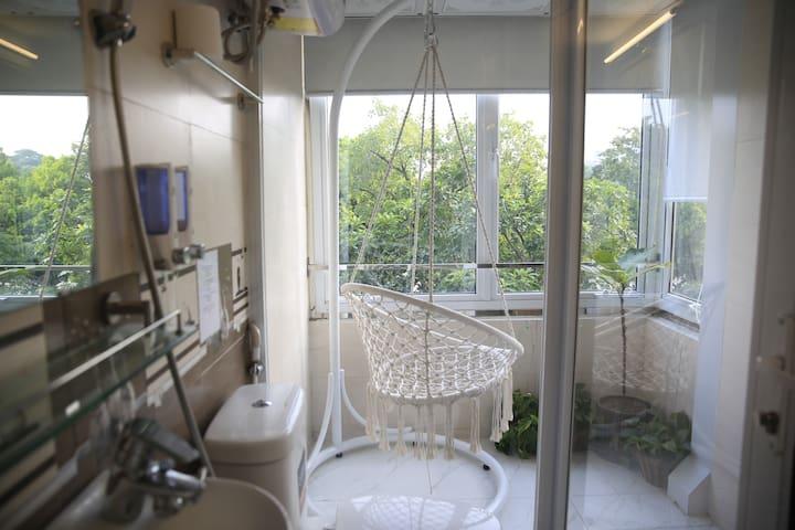 Annam LAKE SIDE❤️ ENTIRE CozyStudio/PrivateBalcony