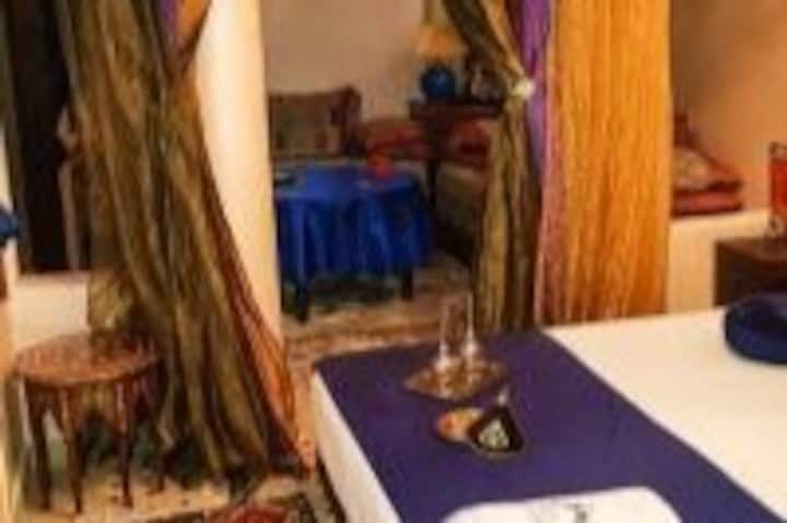 "Riad La porte du Bouregreg Suite Behind blue eyes"""