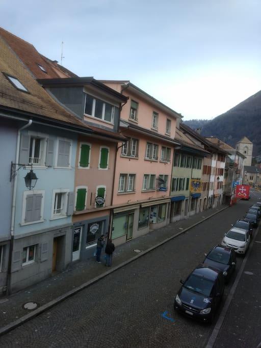 Vue de la Rue principale