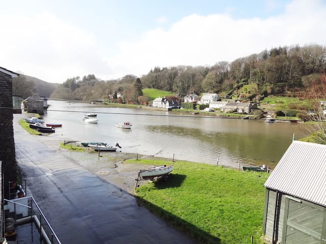 Lerryn home with river views