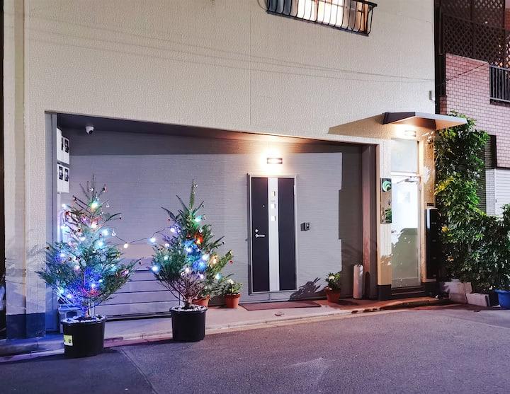 Mitsuba Hotel 4F,close to Asakusa Temple,sky tree
