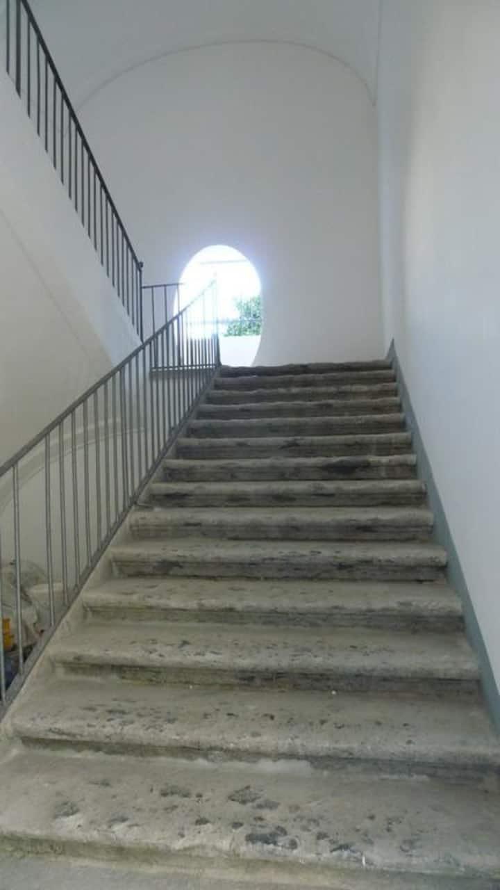Appartamento nel Palazzo Tirabella con vista