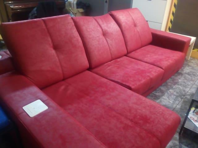 Alquilo mi sofá en Barcelona ;)