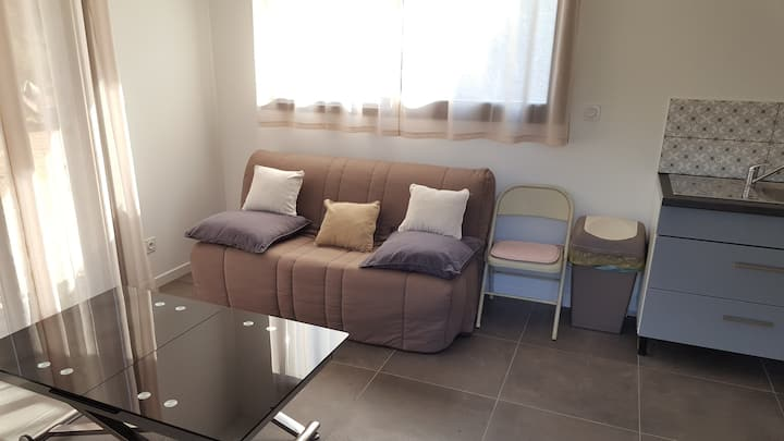 Bel appartement de village T2 40m2 avec piscine