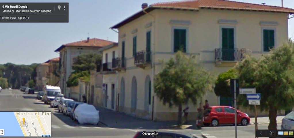 Villa Fernanda - Marina di Pisa-tirrenia-calambr - Rumah