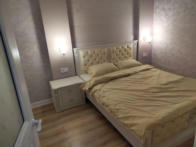 Апартаменты студио со спальней новые