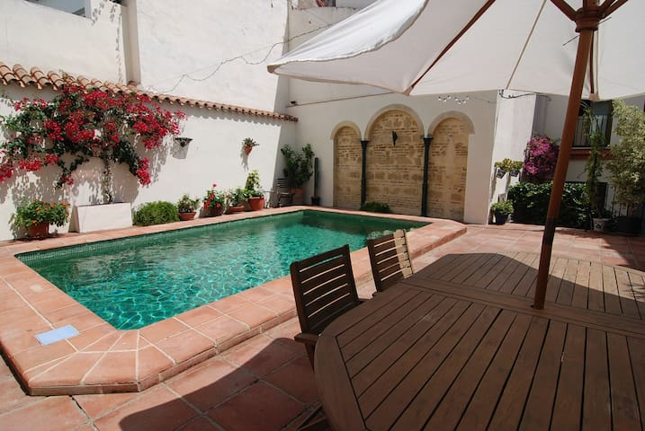 Canela apartment with pool and private terrace - Jerez de la Frontera - Appartement