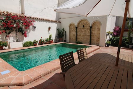 Canela apartment with pool and private terrace - Jerez de la Frontera - Huoneisto