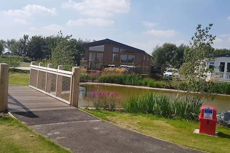 Luxury Lodge, Southview Holiday Park Skegness.