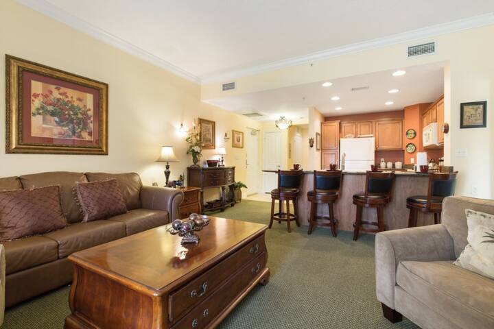 Reunion Resort Golf Condo Minutes from Disney!