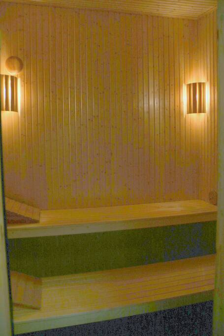 Sauna in your own accommodation