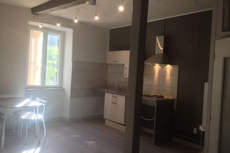 Studio rénové centre ville de Vals les Bains - Vals-les-Bains - Apartamento