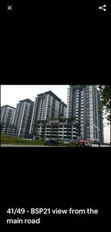 Din Budjet homestay BSP21 Saujana  Putra