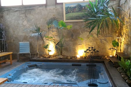 Old typical catalan house with jacuzzi
