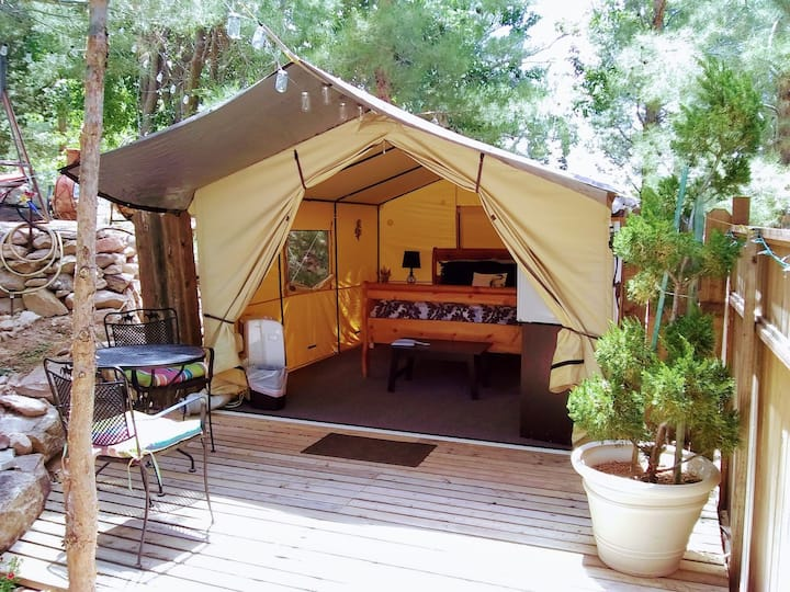 Glamping Tents @ Zion West/ The Hideaway