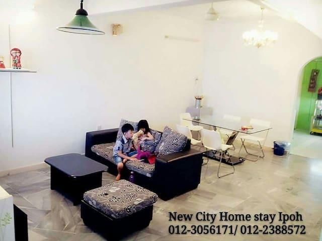 本民宿为您提供干净、清雅及舒适的环境。另您只需步行一分钟就可到达宜康省 - Ipoh - Appartement