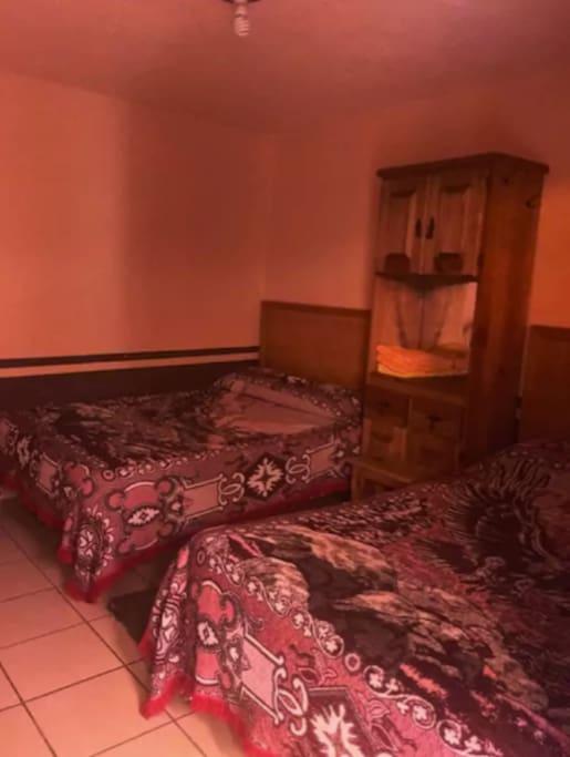 Habitación doble para 4 personas