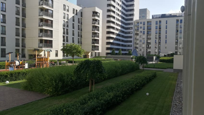 Warsaw downtown apartment 2 rooms 38sqm