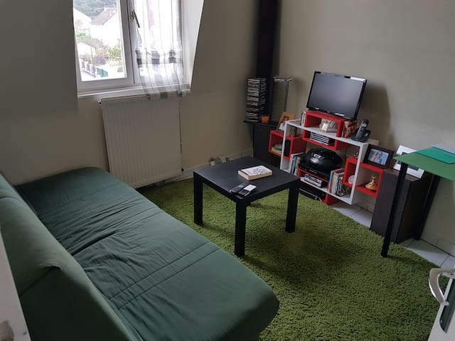 Clean room next to the castle & train station!