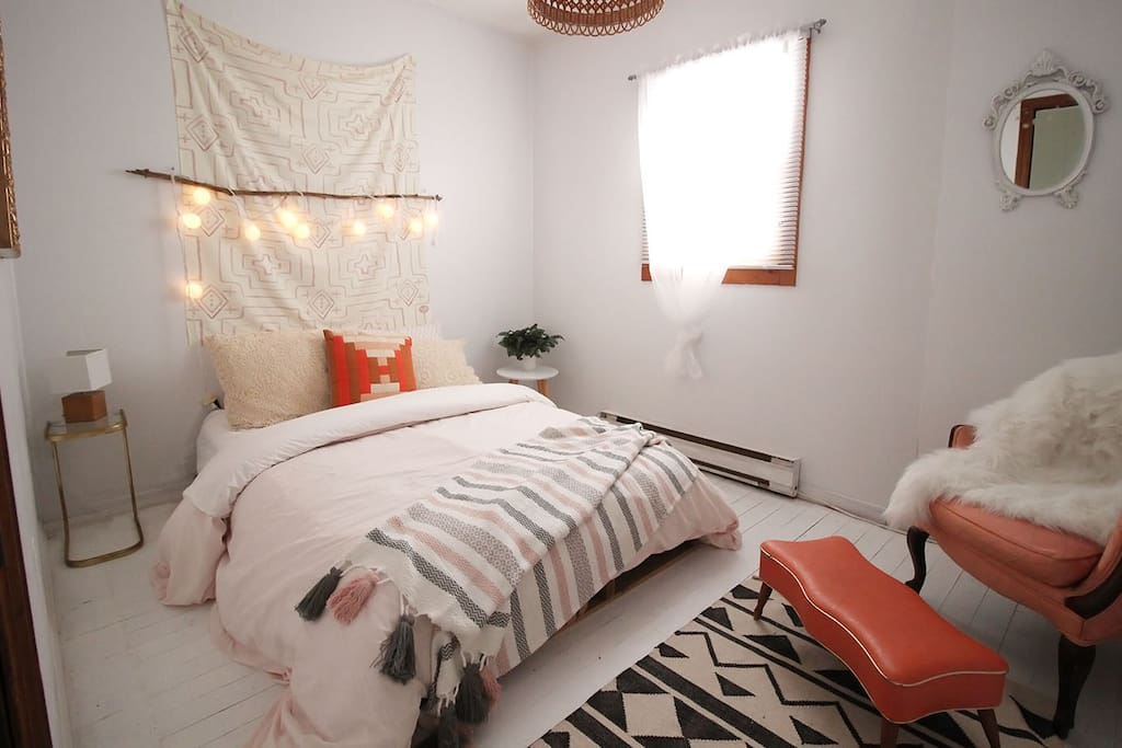 Bedroom #1 is sure to soothe you into dreamland