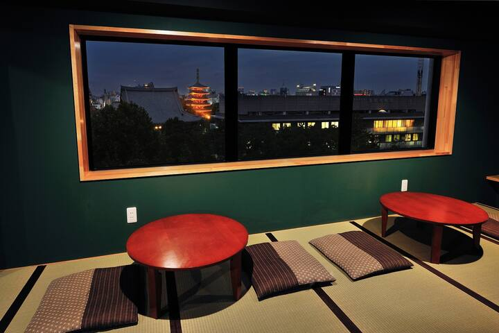 GREAT ASAKUSA VIEW! 2ppl PRIVATE ROOM/Twin