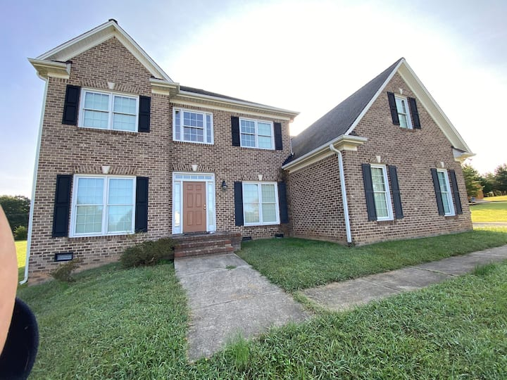 Large Spacious 2 story home with 1.5 acres of land
