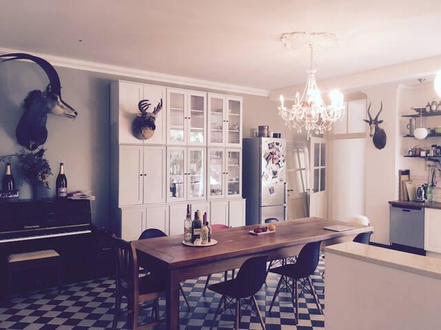 Bedroom 3 in Beautiful Art Nouveau Apartment