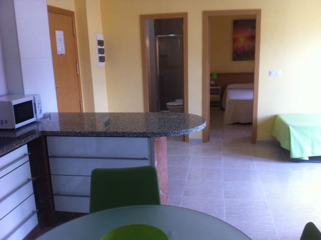 Triple apartment - double and single bed. 2