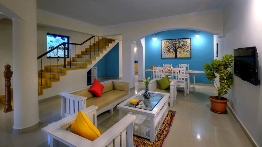 3 BHK Villa - Exotic Space for Vacationers