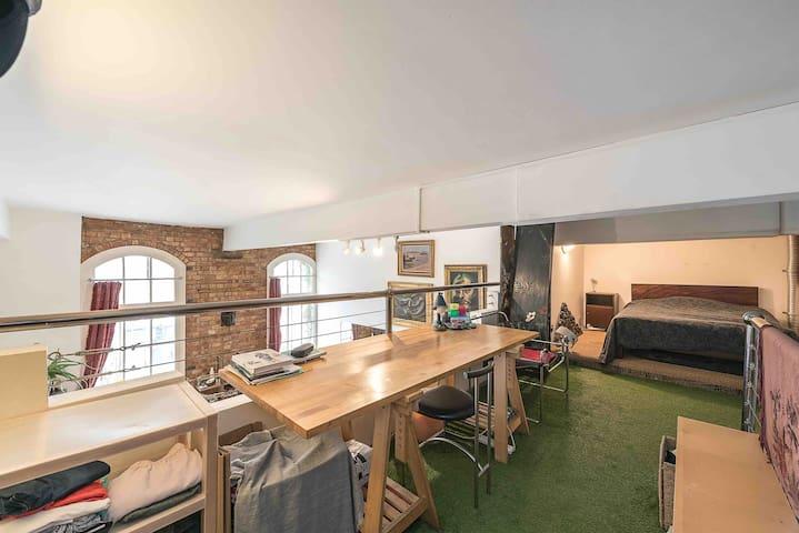 Mezzanine double room space available