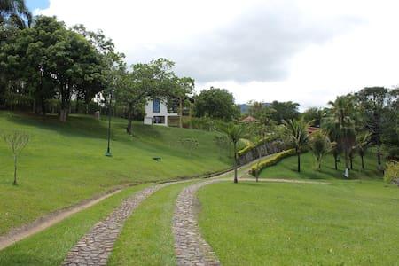 Linda Chacara com vista para a Serra da Bocaina - São José do Barreiro - 独立屋