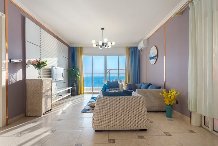 【正面海景】兰海三期离海50米豪华海景两房一厅