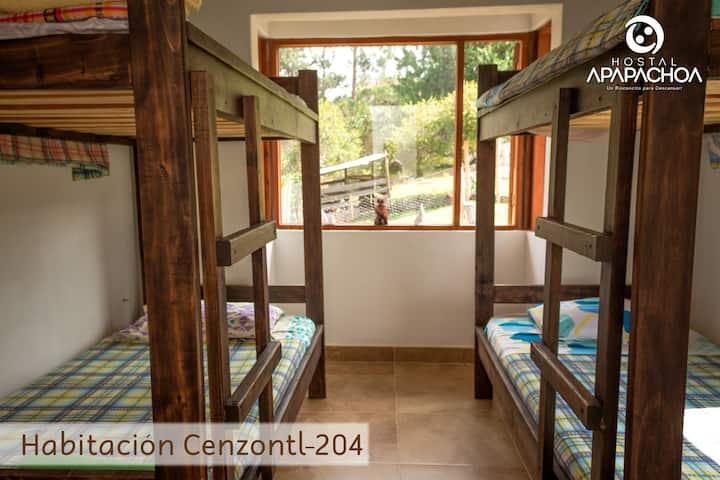 Habitación Cenzontl 204 Villa de Leyva