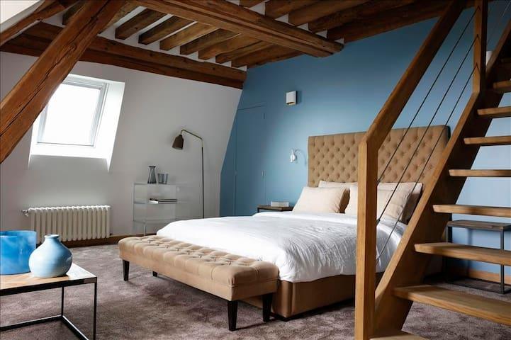 Chambre d'hôte de charme vue mer entre Honfleur et Deauville