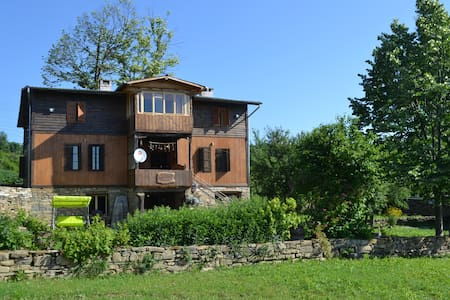 Private mansion with houses, forest and land - Stolat